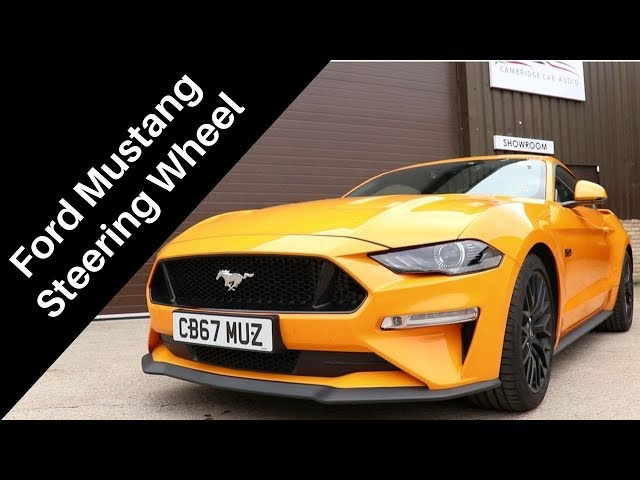 Ford Mustang | Steering Wheel Replacement | CBS Automotive