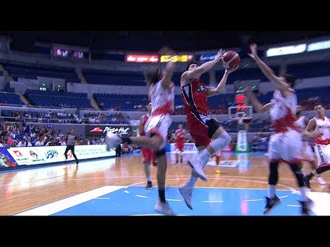 Very graceful move from Jeron Teng | PBA Commissioner's Cup 2019