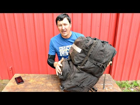 21 DAY SURVIVAL BAG [UNBOXING]