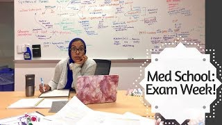MED SCHOOL EXAM WEEK- How we actually feel!