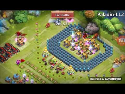 Castle Clash Base For Hero Trial L12