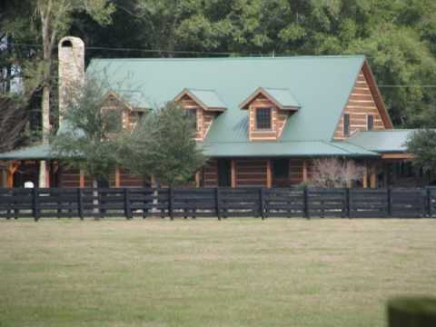 Cracker style log homes cowhunter youtube for Cracker style log homes prices
