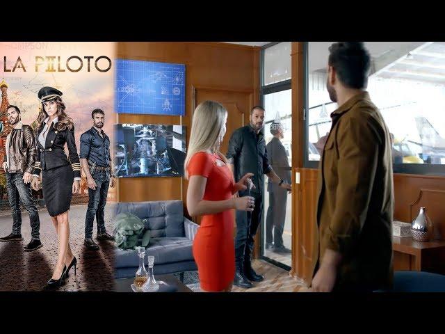 ¡Santamaría y John Lucio vuelven a verse!   La Piloto 2 - Televisa