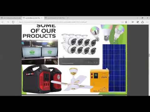 SECODI: Product presentation – Zoom meeting (It's all about Solar Products)