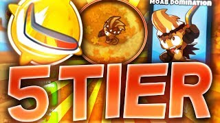 Bloons TD6 - Boomerang Monkey *5th tier* (MOAB DOMINATION)