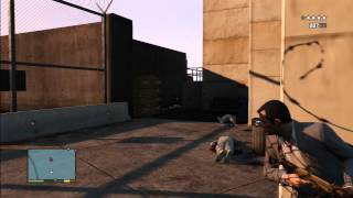 GTA 5 - How to Sneak into the Military Base Tutorial