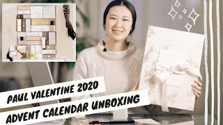 PAUL VALENT NE Advent Calendar 2020 Unboxing Advent Calendar Unboxing 2020 Advent Calendars 2020