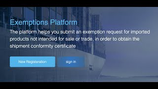 How to apply for Exemption Certificate in SABER