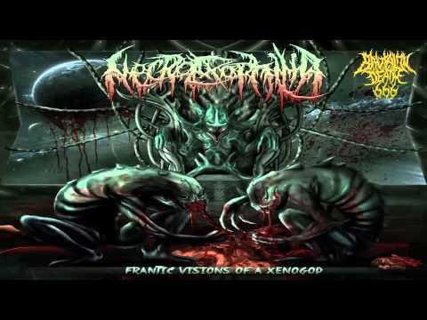 Necroexophilia - Frantic Visions Of A Xenogod (2014) {Full-Album}