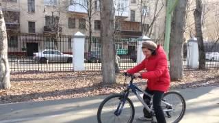Veloezda.ru Обучение езде на велосипеде_Лала апр-май 2015