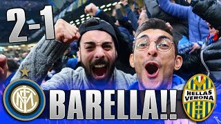 CHE BOATO! INTER 2-1 VERONA | LIVE REACTION SAN SIRO GOL HD