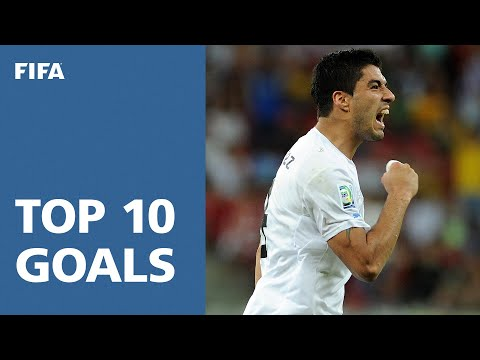 TOP 10 GOALS: FIFA Confederations Cup Brazil 2013