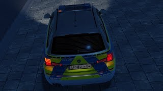 Autobahn Police Simulator 2 - Part 2 - Suspect throwing rocks off bridge at cars