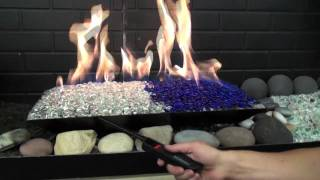 Sacramento Fireplace Low Cost Upgrade Gas Log, Bead, Glass Options