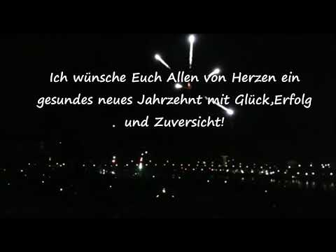 Silvester Dresden 2020 !Ich wünsche Euch Allen von Herzen ein gesundes neues Jahr 2020!
