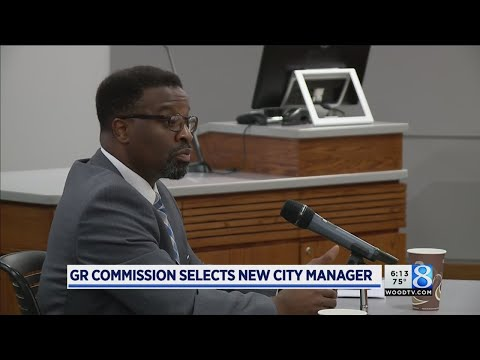 Man From Texas Named Grand Rapids' City Manager