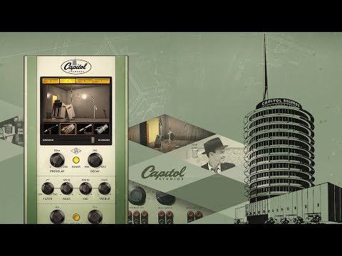 UAD Capitol Chambers Plug-In - The World's Most Iconic Echo Chambers
