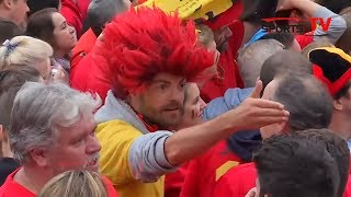 Belgium fans rue missed chances and frustrated by France defeat