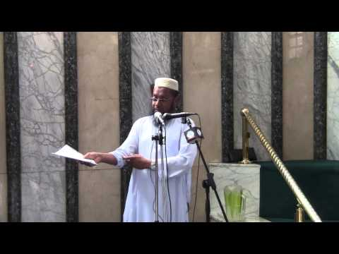Seeking the pleasure4 of Allah SWT in contemporary times - Ml. Aboobaker Chougley - part 2