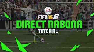 FIFA 16 TUTORIAL DIRECT RABONA FREE KICK W/ Cristiano Ronaldo  -XBOX & PLAYSTATION HD