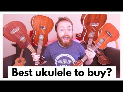 WHAT'S THE BEST UKULELE FOR A BEGINNER TO BUY?