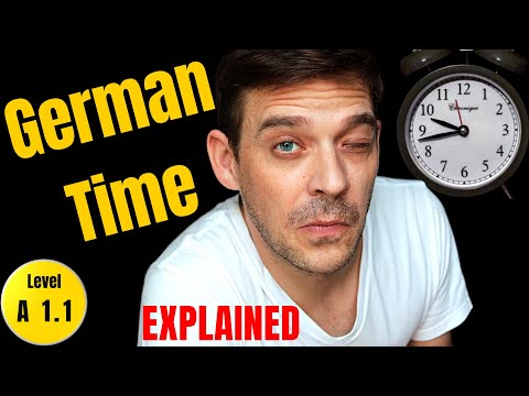How to tell the time in German | Time in German formal and informal.