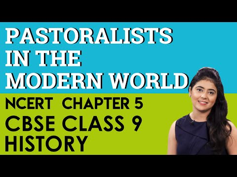 Pastoralists in the mordern world History Chapter 5 CBSE NCERT Class 9 IX Social Science