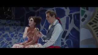 Peter Bording als Figaro in Il barbiere di Siviglia