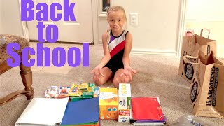 📚📝BACK TO SCHOOL SHOPPING🚃📒 | SHOP FOR KIDS SCHOOL SUPPLY | DYCHES FAM