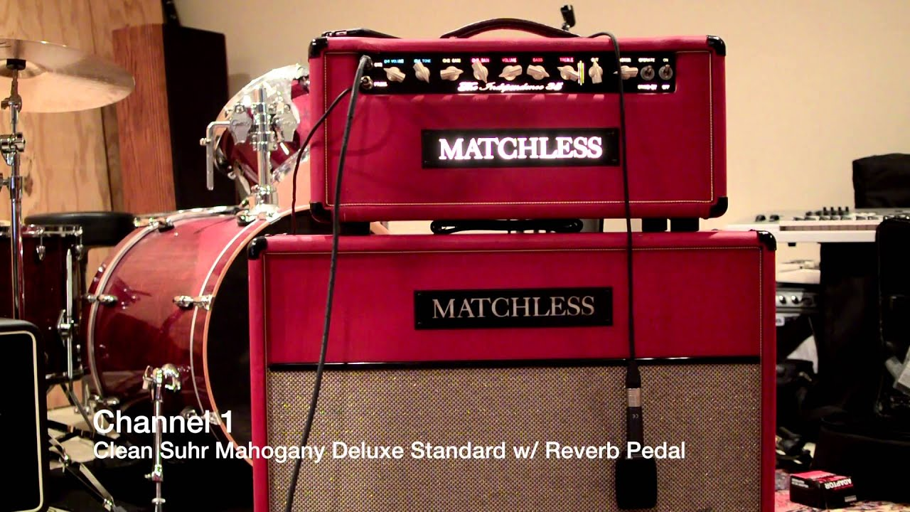 Matchless Independence 35 Guitar Amp w/ matching 2x12 Cabinet RED ...