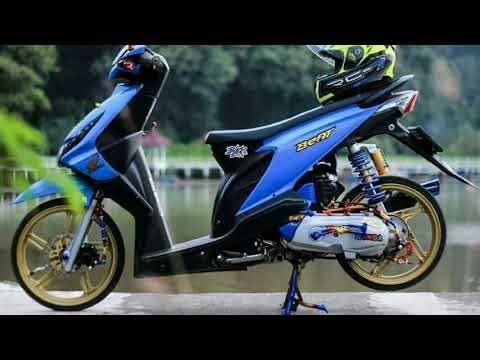 KUMPULAN modifikasi honda beat BABYLOOK 2K18 part 2