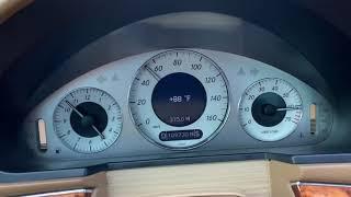 2009 Mercedes-Benz E350 WOT 0-60