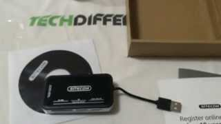 Unboxing card reader all-in-one Sitecom