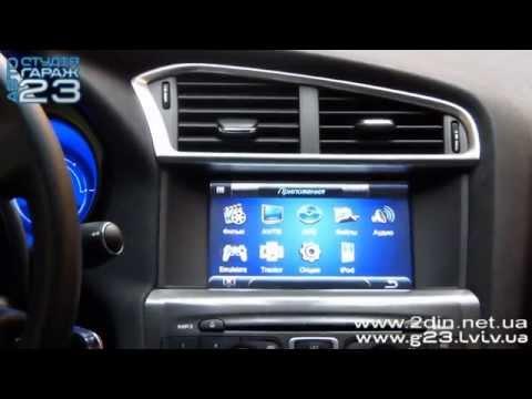 Штатная магнитола для Citroen С4 2011-2014 (RoadRover) - Прошивка GPS навигации