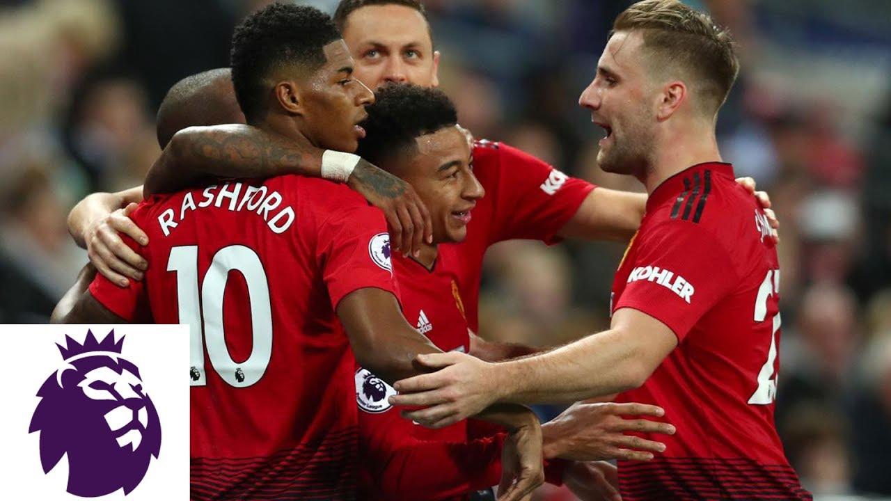 Paul Pogba finds Marcus Rashford for Man United goal v. Tottenham | Premier League | NBC Sports