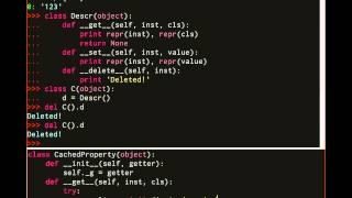 DiveInto - Advanced Python: 05/1 - Дескрипторы