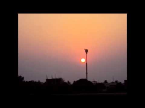 Sunset in INDIA (Timelapse)