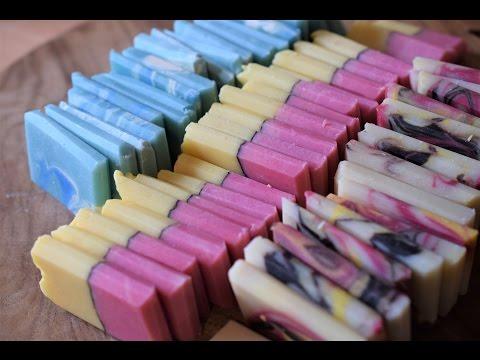 Soap Making | Making/Cutting Sparklebox & OM