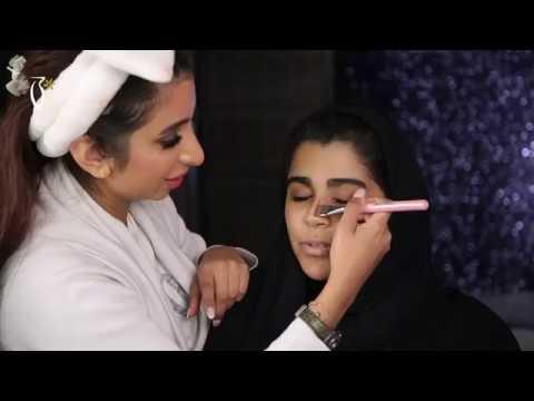 Makeup Tutorial by Mariam Al Yassi on Taim Al Falasi | ميكب توتوريال مع مريم الياسي على تيم الفلاسي