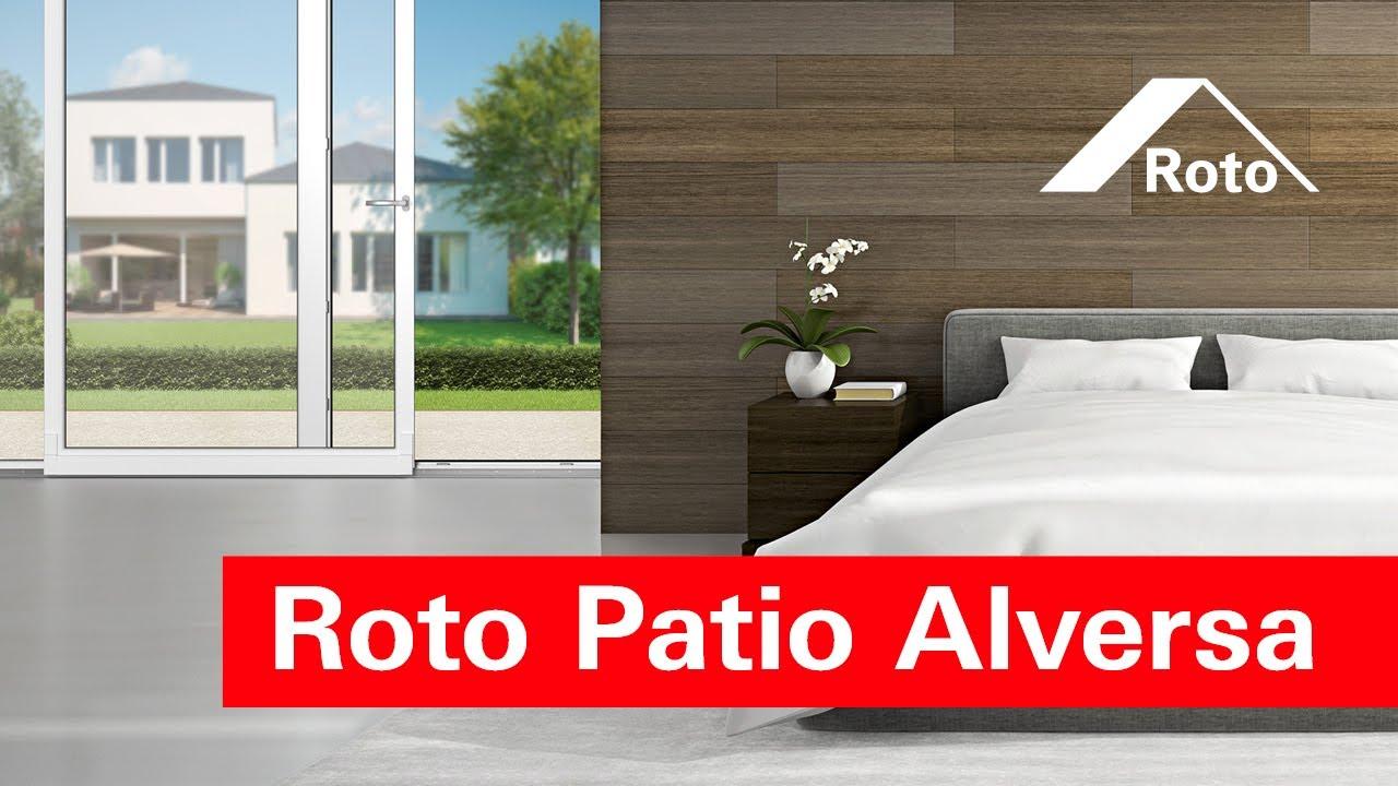 roto patio alversa produktvideo f r verarbeiter youtube. Black Bedroom Furniture Sets. Home Design Ideas