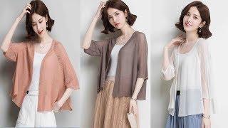 Women hollow knitwear summer & spring loose knit Cardigan coat outwear Review