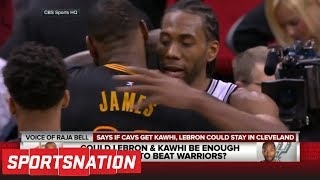 Could Kawhi Leonard be headed to Cavaliers to team with LeBron James? | SportsNation | ESPN