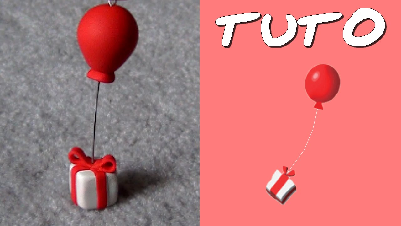 Tuto Fimo Cadeau Ballon De Animal Crossing Tres Facile