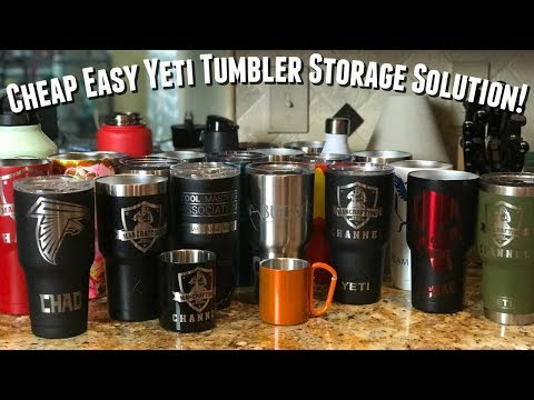 How to Yeti Storage Solution | Cheap DIY