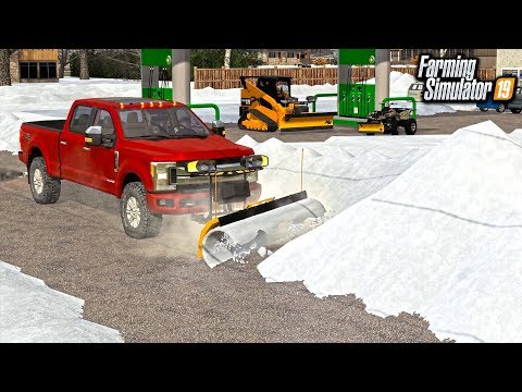 STARTING A SNOWPLOWING CREW! (MULTIPLAYER ROLEPLAY) | FARMING SIMULATOR 2019
