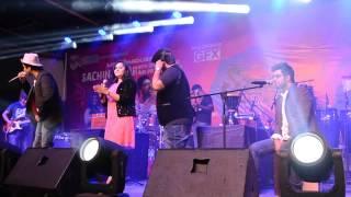 Catch Sachin Jigar singing Saibo at Sattva