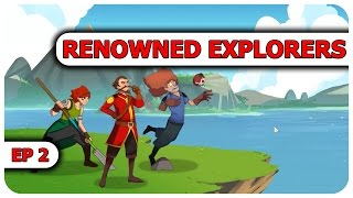 Renowned Explorers Gameplay - Deadly Nuns -  Let's Play