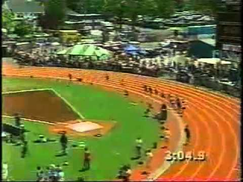 Alan Webb Sets High School Record Mile; 3:53.43
