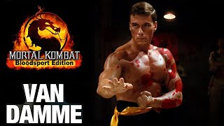 Jean-Claude Van Damme As Johnny Cage In Mortal Kombat: Bloodsport Edition