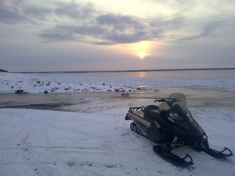 Arctic Cat BEARCAT 570 XTE (разгон за сотню)
